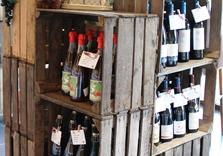 Assortiment vins et spiritueux - boucherie Le Limousin